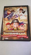 """DVD """"LA LEYENDA DEL PIRATA BARBANEGRA"""""""
