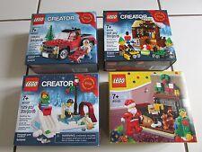BNIB Lego Winter / Christmas RARE Sets 40083 40106 40107 40125 Truck/Elves/Santa