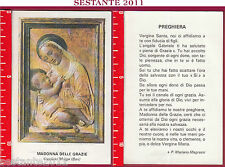 304 SANTINO HOLY CARD S. MARIA MADONNA  DELLE GRAZIE CASSANO DELLE MURGE