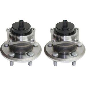 2pcs REAR Wheel Hub Bearing Assembly for TOYOTA COROLLA MATRIX PRIUS 4WD