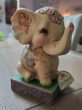 """Jim Shore """"It'S Irrelephant"""" Polyresin Pint Size Elephant 4052072"""
