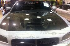 VIS 06-10 Charger Carbon Fiber Hood SRT1