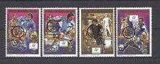 Fußball WM 1990, Soccer - Madagaskar - 1221-1224 ** MNH