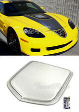 For 05-13 Corvette C6 ZR1 Style Front Hood Window Insert Replica Polycarbonate