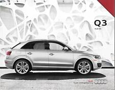 2015 15  Audi  Q3  original sales  brochure  MINT