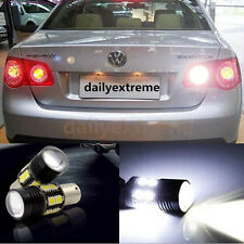 2x Error Free LED Reverse Backup Light Projector Bulbs For VW touran 2010-2015