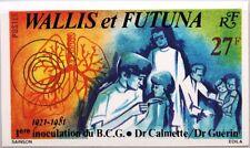 Wallis et Futuna 1981 396 U 270 Imperf protezione vaccinazione tubercolosi medicina medico