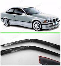 Deflectors For BMW 3 Coupe E36 Windows Rain Sun Visors Weather shields 1991-1999