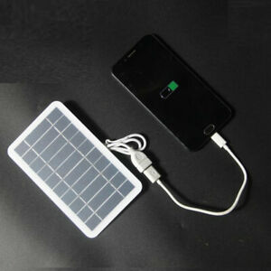 Solar Panel 2W 5V Mini USB Solar System DIY For Battery Cell Phone Charger
