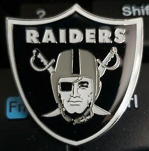 Oakland Raiders Metal Lapel Hat Pin NFL Las Vegas Raiders Approx 1 in x 1 in