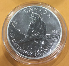 2012 1 oz Silver Canadian Cougar (Wildlife Series)