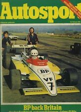 Autosport 7th 1980 de febrero * Daytona 24 horas & Jaguar XJ 12 *