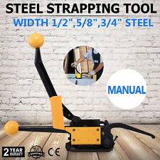Industry Manual Sealless Steel Strapping Tools Pallets Heavy Package Equipment