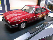 FORD Capri 3 MKIII 2.8i 2.8 Coupe 1982 dark rot red Norev limited 1:18