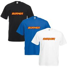 Burner BMX T-Shirt VARIOUS SIZES & COLOURS Bicycle Enthusiast
