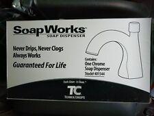 Technical Concepts SoapWorks Manual Hand Soap Dispenser Chrome TC #401544