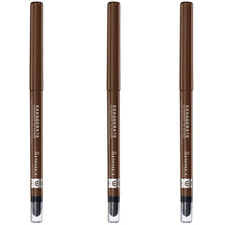 NEW Rimmel Exaggerate Eye Definer Rich Brown 0.01 Ounces (3 Pack)