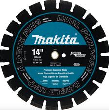 Makita 14 inch Diamond Blade Circular Saw Blade Concrete Cutting Tool Wet Dry