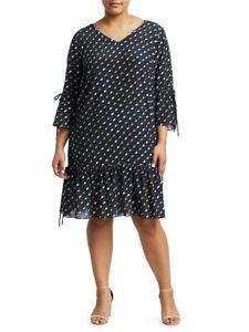 Lafayette 148 New York Anagrace 100 % Silk Dress XL US 12 Plus 14 16 Extra Large
