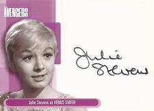"""The Avengers Definitive 1 - A5 Julie Stevens """"Venus Smith"""" Auto/Autograph Card"""