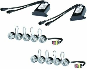 HELLA 010458811 LEDay Flex Daytime Running Light, 5 LED Lamp Kit with Position L