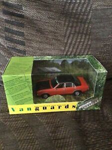 VANGUARDS HIDDEN TREASURES - FORD GRANADA 3 LITRE GHIA SEBRING RED VA05206
