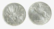 pci3979) Italia Repubblica in Italma - 10 Lire 1950 Ulivo
