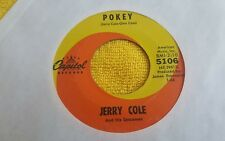 Jerry Cole And His Spacemen – One Color Blues / Pokey