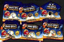 Angry Birds Star Wars Mobile Phone Dangler Brand New Sealed 6 Packs Cell Phone