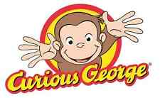 "Curious George Iron On Transfer 4.5 ""x 7.5"" for LIGHT Colored Fabric"