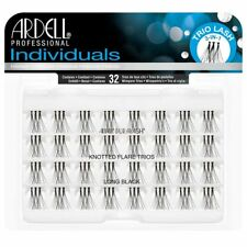 Ardell Duralash Individual Knotted Flare Trios Eyelashes - Long Black