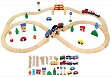 New Classic Toys 56304 Holzeisenbahn 49-teilig