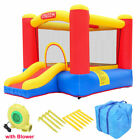 Inflatable Bounce House Large Activity Room Kids Slide Jump Castle with Blower
