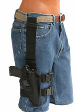 Tactical Thigh Gun Holster For Ruger p85,p90,p-95 With Laser