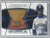 Ken Griffey Jr 2004 Topps Commemorative All-Star Patch Seattle Mariners MLB!