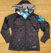 CUTE! Polka Dot FLY Racing Jacket Motocross Snowmobile Ski Shell Jacket Coat M