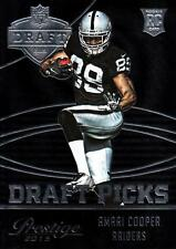 2015 Prestige Draft Picks Jumbo Black #3 Amari Cooper Raiders
