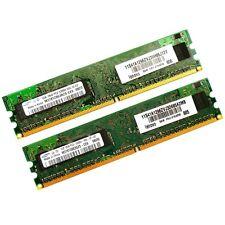 2x1GB Samsung PC2-5300 Speicherriegel  DDR2 SDRAM Lenovo *mit Rechnung*