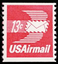 1973 13c Winged Envelope, Coil Scott C83 Mint F/VF NH