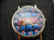 JEOPARDY 1999 Collectible Wrist Watch  w/ Box Stainless Steel Japan Quartz New