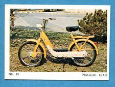Nuova - MOTO - Ed. Raf - Figurina/Sticker n. 25 - PIAGGIO CIAO  -New