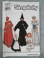 Vintage Sewing Quilting Pattern UNCUT Pieces From My Heart #226 UNCUT Witch Pumpkin?