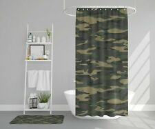 Camo Shower Curtain camoflauge shower curtains boys shower curtain camo bath rug