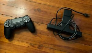 Sony PS4 Camera and Black Dualshock Controller