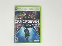 Crackdown video game for XBOX 360 TESTED WORKS