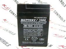 BATTERY/2000 - 2M-1645 - SEALED LEAD ACID BATTERY