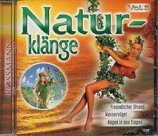 Naturklänge 3 Freundlicher Strand, Wasservögel, Regen in den Tropen [CD]
