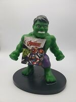 """HULK PVC Soft Figure Marvel Kids Toy 9"""" Collectible Talks New With Tags"""