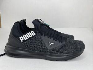 Puma Men's Enzo Beta Woven Soft Foam Shoes BLACK - New in Box - Size 9.5