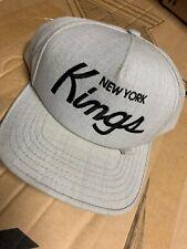 Supreme New York Kings Snapback Grey Rare Vtg Box Logo Japan Hat